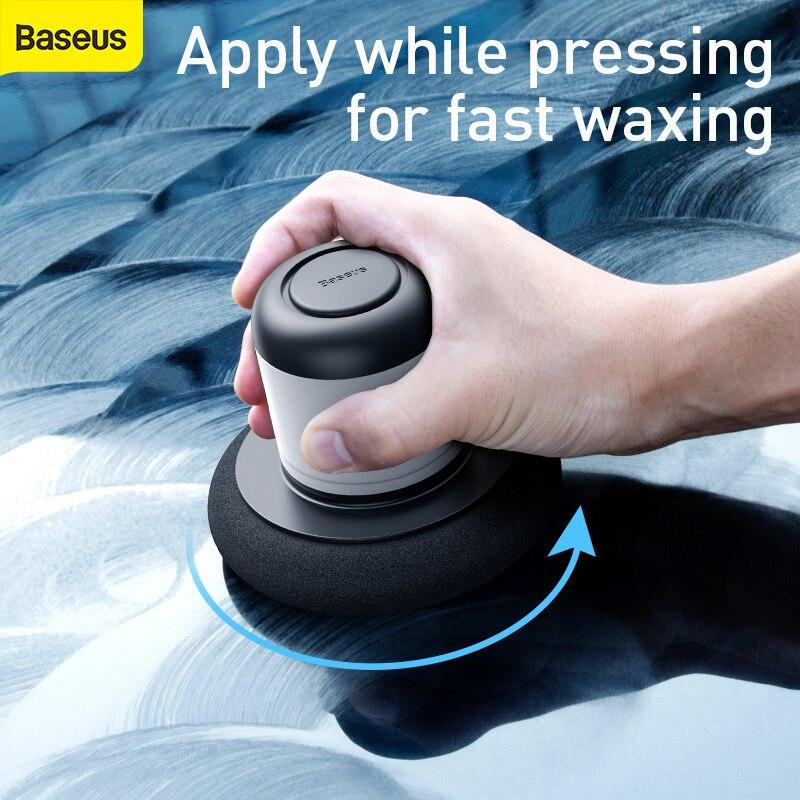 Baseus Car Waxing Machine Car Polish Care Maintenance Wax Auto Detailing Remover Repair Clean Waxing Tools Accessories100ML