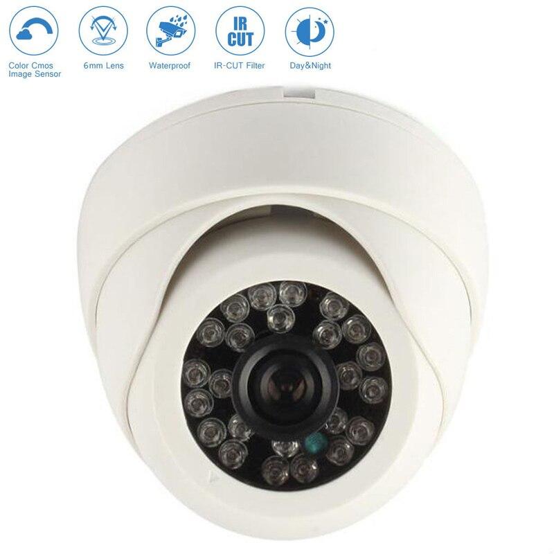Wall Security Camera Monitor 1200TVL HD Surveillance Indoor Ceiling Plastic Image Sensor High Quality