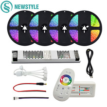 5m 300Leds 5050 Waterproof RGB Led Strip LED Tape Ribbon + 1Pcs Touch Controller + 1Pcs 12V 3A Power Adapter