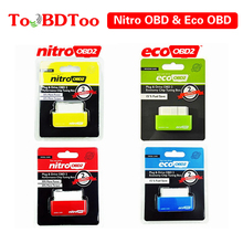 Super ECO NitroOBD2 Gasoline Benzine Cars Chip Tuning Box Nitro OBD Plug & Drive OBD2 35% More power 25% torque