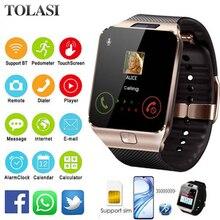 купить relogio inteligente 2019 Bluetooth Smart Watch Men Intelligent Digital Sport Smartwatch DZ09 Pedometer For Android Smartphone по цене 364.08 рублей