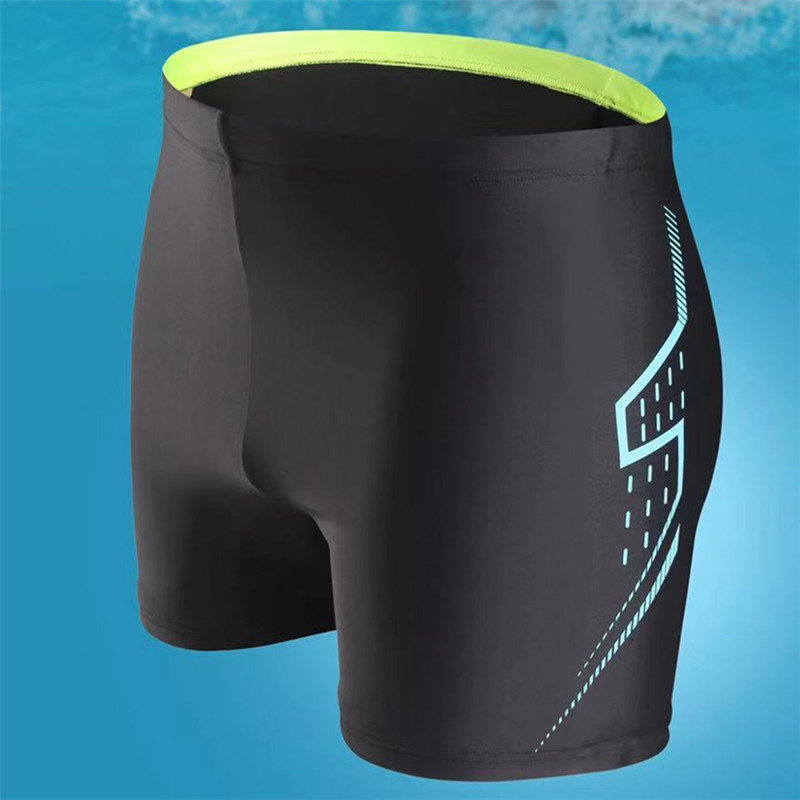 2020 New Style Swimming Trunks Men Boxer Bathing Suit Bubble Hot Spring Waterproof Quick-Drying Sports Adult Industry Swimming T