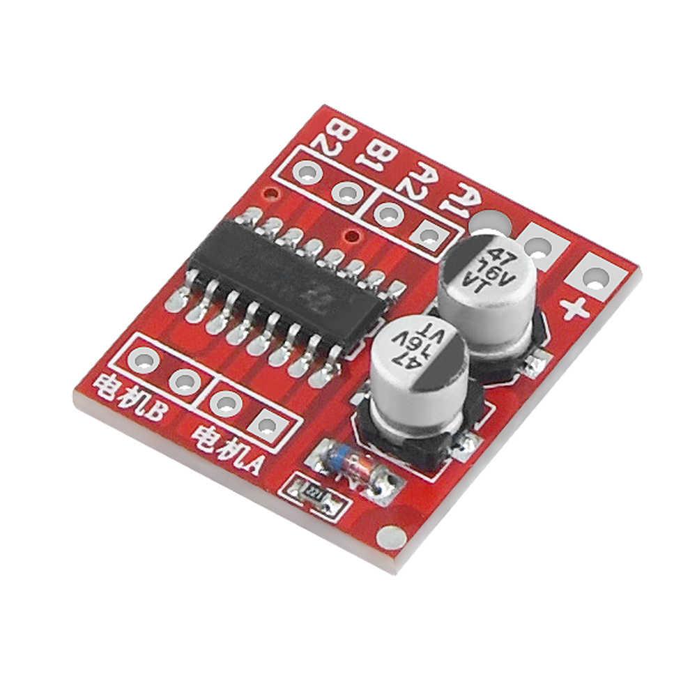 Módulo de placa de controlador L298N, motor paso a paso L298N, placa de pruebas robot inteligente para coche, peltier, alta potencia, Motor L298 DC, controlador para arduino