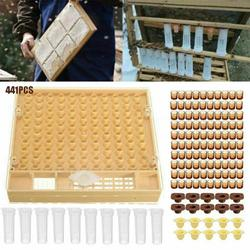 120Pcs Bee Cell Cups Queen Rearing System Beekeeping Tool Cultivating Box Beekeeping Equipment