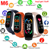 M6 Smartwatch For Xiaomi Mi band 6 Fitness Bracelet Sport Waterproof Pedometer Watch in Russian Spanish French Smartband M6 Alar