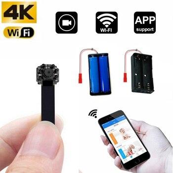 2020 new WIFI 4K Network Camera Webcam IP P2P HD Mini Camera DIY Wireless Cam Motion DV Camcorder Video Audio Recorde