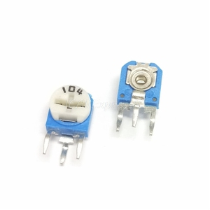 5pcs/lot RM063 RM-063 100 200 500 1K 2K 5K 10K 20K 50K 100K 200K 500K 1M ohm Trimpot Trimmer Potentiometer variable resistor