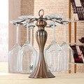 Креативное украшение дома, вверх ногами держатель бокалов, бокал для вина, бар, Подвесная подставка для чашек, изделия из железа в наличии