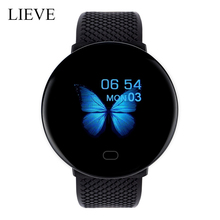 2020 New D19 Smart Watch Men Women Blood Pressure Round Smartwatch Waterproof Sport clock Fitness Tracker For Android IOS