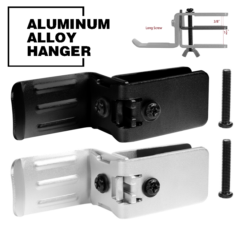 Screw Universal Earphone Headset Headphone Holder Hanger Stand Table Clamp Clip