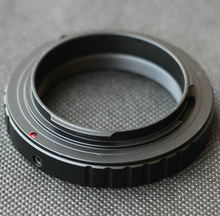 T2 T 마운트 렌즈 어댑터 링 캐논 니콘 소니 E 마운트 펜탁스 올림푸스 DSLR 420 800mm/650 1300mm/500mm 망원 렌즈