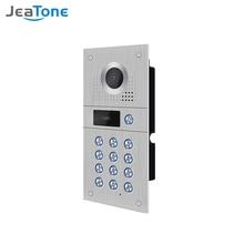 Jeatone проводной Wifi видео телефон двери 960p наружная камера водонепроницаемый широкий вид дверной звонок (работа с Jeatone Интерком)