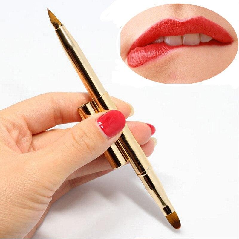 Fashion-Pro-Double-headed-Makeup-Brush-Retractable-Lip-Brush-Foundation-Brush-Make-Up-Adjustable-Tool-Retractable_