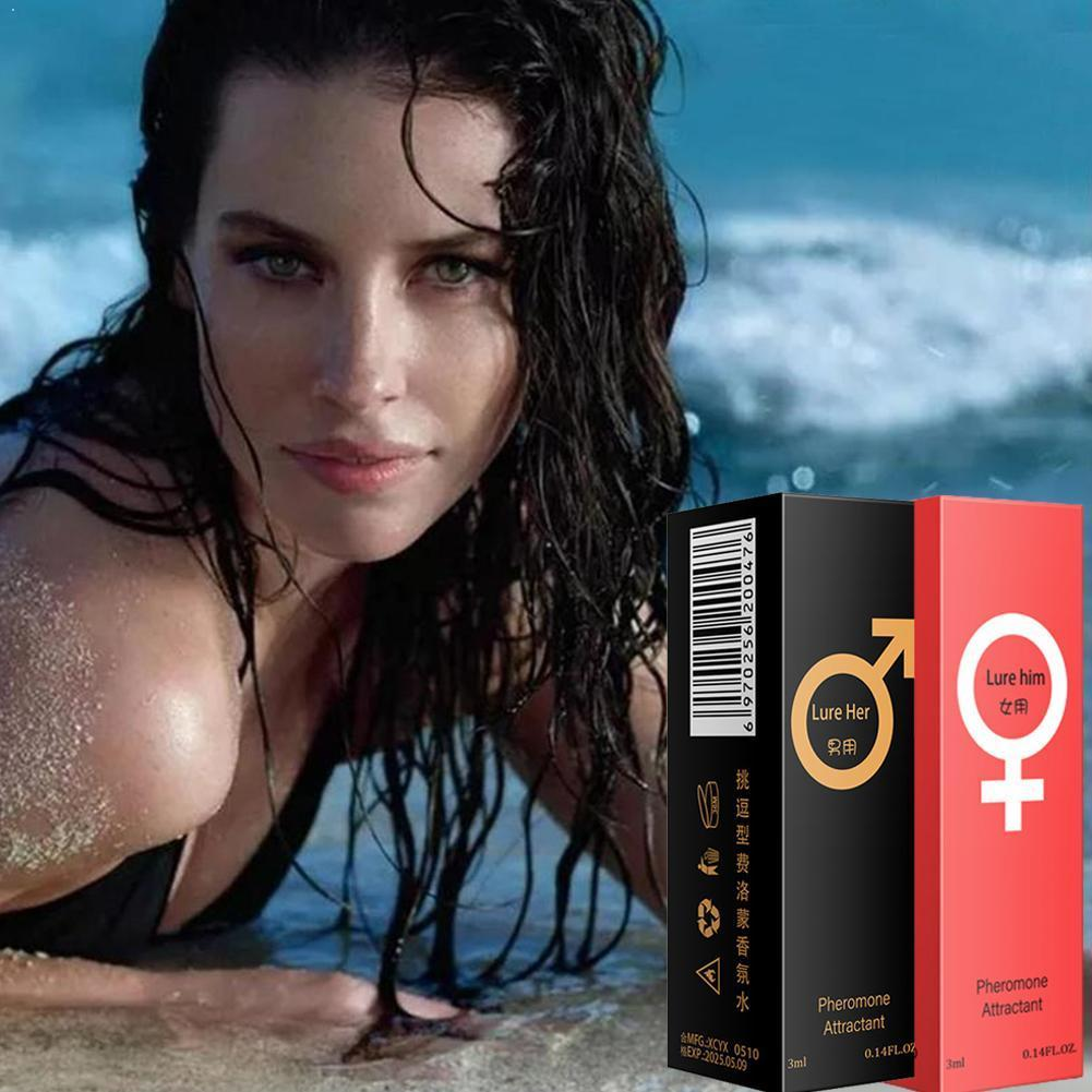 3ml Pheromone Perfume Aphrodisiac Woman Orgasm Body Attract Perfume For Men Water Lubricants Scented Girl Spray Flirt Z6L5