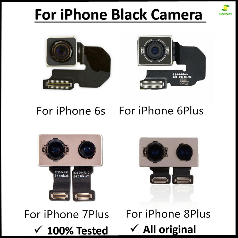 Original Big Camera Rear Back Camera For Iphone 5S 6 6s 7 8 Plus X XR XS XS Max I11  Module Main Lens Flex Cable Assembly Parts