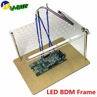 New Arrival Light LED BDM Frame with LED and 4 Probe Pens for KESS KTAG Fgtech BDM100 ECU Programmer Tool with free shipping