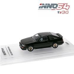 INNO64 1: 64 Toyota Corolla levin AE86 черный литьем под давлением модель автомобиля