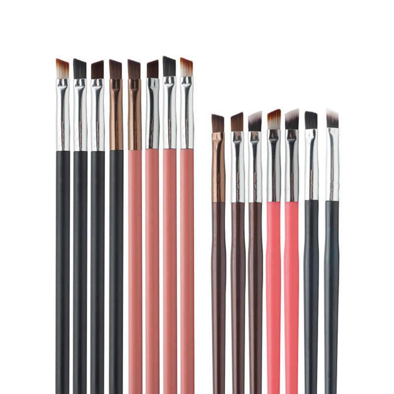 Conjunto de pincéis de maquiagem profissional, kit de pincéis cosméticos para sobrancelha, ferramentas de maquiagem