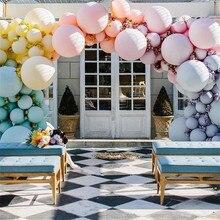18/36 inch cake candy balloon wedding party round macaron balloon bow decoration holiday