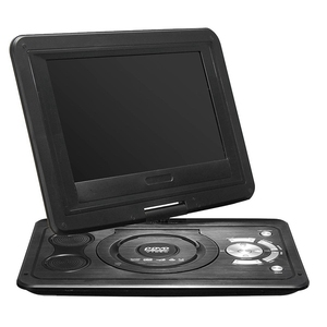 Image 4 - 13.9 Inch HD Portable DVD Player, MP3/CD/TV Game Player with Swivel Sn Supported SD Card FM Radio Receiver EU Plug