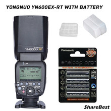 YONGNUO YN600EX-RT II YN600EX II Flash Speedlite for Canon with Rechargeable AA Battery(China)
