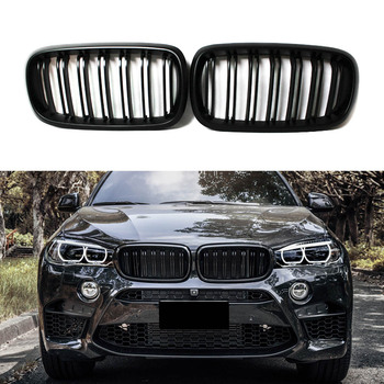 For BMW X5 Series F15 X6 Series F16 X5M F85 X6M F86 2014-2019 Front Grille Kidney Grille Replacement