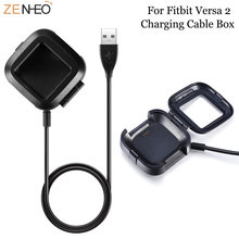 1 м usb кабель для быстрой зарядки смарт часов fitbit versa2