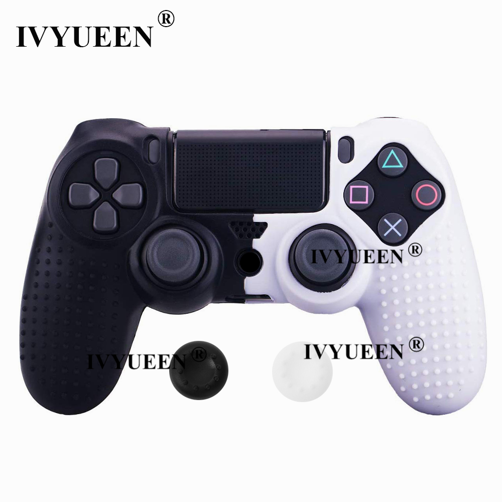 for Sony PlayStation dualshock 4 ps4 pro slim controller silicone case skin 12