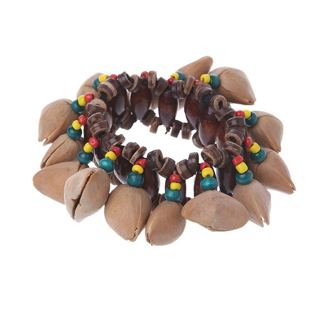 Fashion African Tribal Style Bracelet Women Chain Universal Nut Shell Ringing Bracelet Trendy Female Jewelry