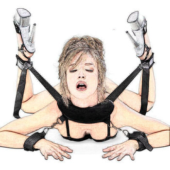 Mouth Gag Sex Toys For Women Couples Handscuff Neck Ankle Cuffs BDSM Bondage Restraints Slave Straps Adult Games Sex Products male body leather harness bondage belt slave restraints neck hand bundled straps cuffs bdsm fetish sex toys for men adult games