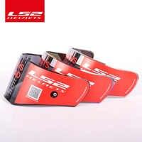 100% оригинал LS2 FF390 выключатель мотоциклетный шлем хромированный зеркальный объектив дымчатый цветной серебристый козырек с противотуманны...