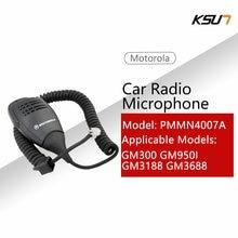 Mag um por motorola novo 8 pinos alto-falante microfone para motorola gm300 gm338 gm950 rádio do carro móvel