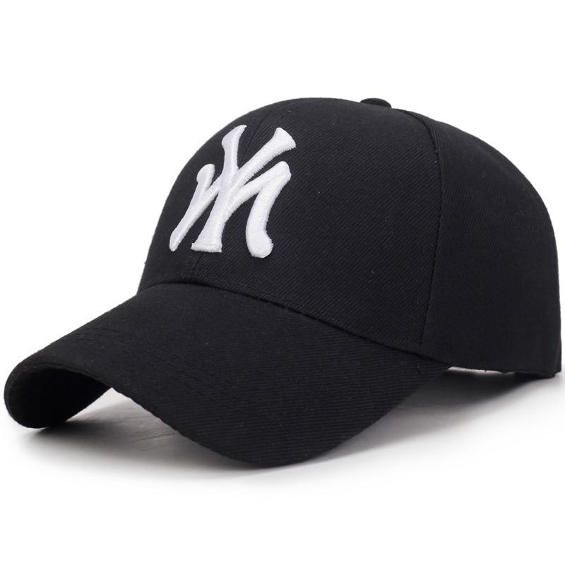 Letter MY Embroidery Baseball Caps Fashion Women Man Summer Adjustable Hat Unisex High Quality Visor Cotton Snapback Hats BP3020