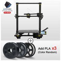 ANYCUBIC Chiron 3D Máy In Plus Kích Thước MÀN HÌNH TFT Tự động san lấp mặt bằng Máy In 3D Titan Giàn Phơi Đôi Z Axisolor Impressora 3D Bộ 3D Drucker