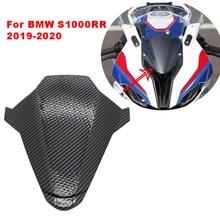 Bmw S1000RR s 1000 rr 2019 2020炭素繊維表面オートバイフロントガラスフロントガラスS1000 rrフロントヘッド鼻リアシートカウルカバー