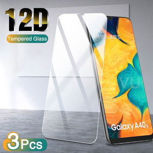 3Pcs Tempered Glass on For Samsung Galaxy A50 A51 A70 A71 A80 A90 A60 A40 A30 A20E M30 M20 M10 Full Cover Screen Protector Glass
