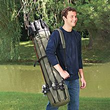 Fishing Rod Gear Storage Bag Multi-function Bracket