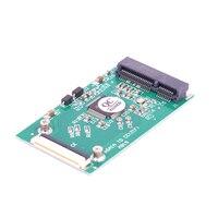 MSATA SSD إلى 1.8 بوصة LIF 40pin محول بطاقة مصغرة SATA إلى CE مع LIF كابل و زيف كابل-في أضف على البطاقات من الكمبيوتر والمكتب على