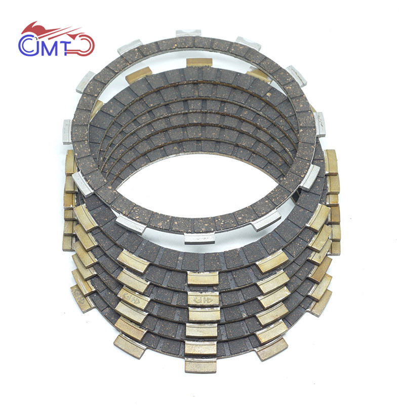 For Suzuki SV400 1998-1999 2001-2005 SV400S 1998-2005 SV650 S650S 1999-2002 VL1400/C 2006 Clutch Friction Disc Plate Kit 7P Set