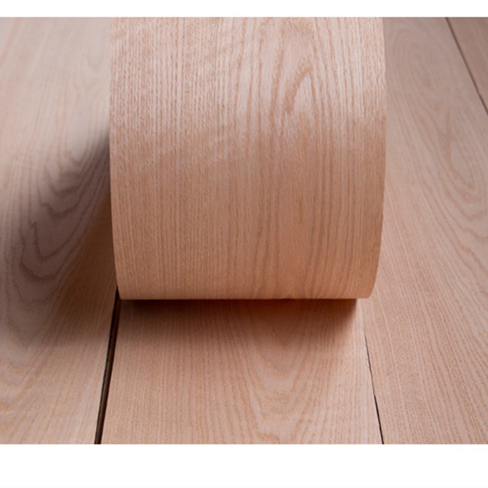 Natural Genuine Red Oak Wood Veneer Furniture Veneer About 15cm X 2.5m C/C