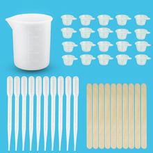Jewelry-Tools-Kit Dropper Measure Casting-Making Stirring Uv-Epoxy-Resin 41pcs Cup
