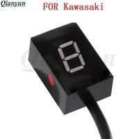 FOR Kawasaki NINJA250R NINJA400R NINJA650R ER6N ER6F ER 4N/F Motorcycle 1 6 Level Ecu Plug Mount Speed Gear Display Indicator|Motorcycle Electronics Accessories|   -