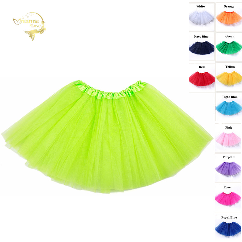 Short Tulle Skirt Slip 40cm Dance Halloween Petticoat Elastic Waist Girls Ballet Womens Summer Beach Underskirt Rockabilly Tutu