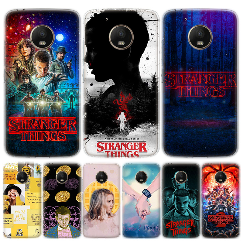 Stranger Things Phone Case For Motorola MOTO G8 G7 G6 G5 G5S G4 E6 E5 E4 Plus Play Power One Action Soft Silicone TPU Cover