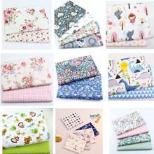 Printed 100% Cotton Fabric Cloth Handmade DIY sewing material patchwork needlework fabric 20*25/50*40