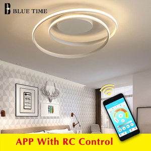 Image 1 - APP control Simple Acrylic Modern Ceiling Lights For Home Living Room Bedroom Kitchen Ceiling Lamp Home Lighting Fixtures