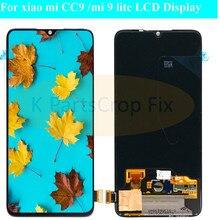 ЖК дисплей 6,39 Super AMOLED для Xiaomi Mi CC9, сенсорный экран, дигитайзер в сборе, запасные части для Mi 9 lite M1904F3BG LCD
