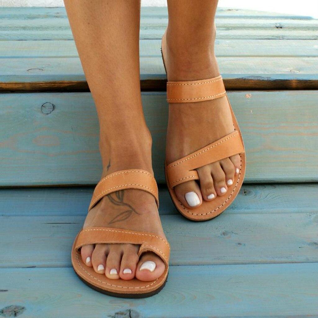 JAYCOSIN sandales femmes dames plate-forme sandales compensées talon haut boucle sangle chaussures romaines chaussures romaines sandales dété sandales