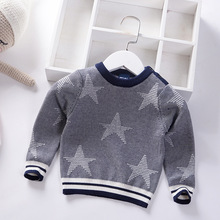 купить Baby Girls Sweaters 2019 Winter Clothes Children Sweater for Baby Boys Cotton Knitted Pullover Newborn Warm Kids Clothes Tops по цене 824.56 рублей