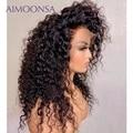 Парик из вьющихся человеческих волос Нечеткие 13x4 парики из человеческих волос на сетке передние парики на полной сетке 360 парик на сетке пер...